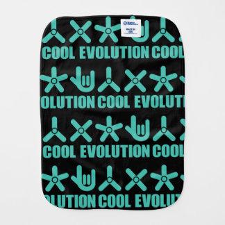 Cool evolution burp cloth
