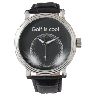 Cool Executive Gift Golf Theme Watches