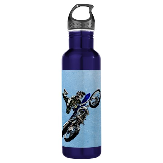Cool Extreme Motocross Water Bottle