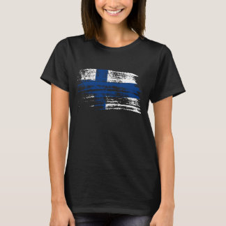 Cool Finnish flag design T-Shirt