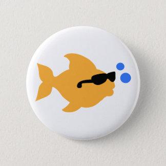 COOL FISH MINI 2 INCH ROUND BUTTON