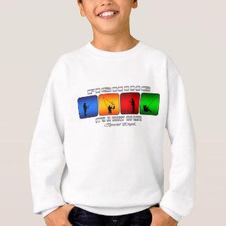 Cool Fishing It Is A Way Of Life Sweatshirt