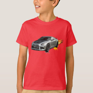Cool Flaming Race Car T-Shirt