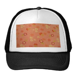 cool floral pattern trucker hat