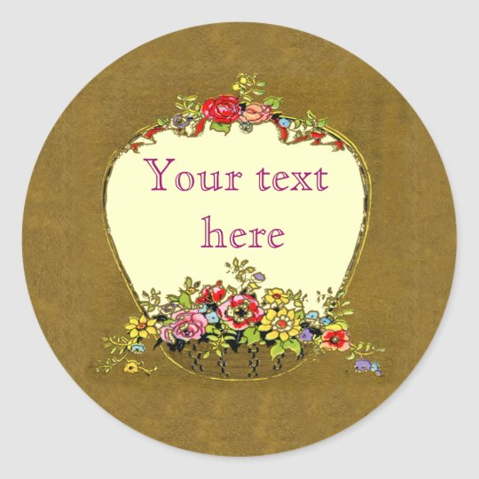 Cool Flower Box Effect Stickers