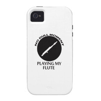 Cool FLUTE designs iPhone 4/4S Case