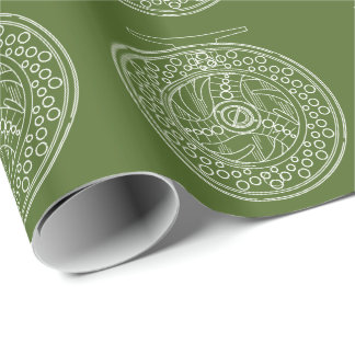 Cool Fly Fishing Art of A Fly Reel Wrapping Paper