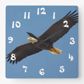 Cool Flying Eagle Wall Clock