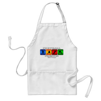 Cool Football It Is A Way Of Life Standard Apron