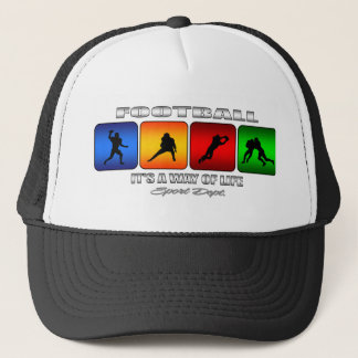 Cool Football It Is A Way Of Life Trucker Hat