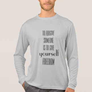 Cool Forgiveness Quote Inspirational T-Shirt