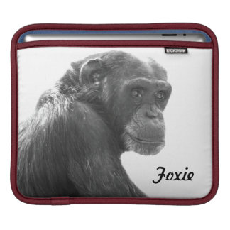 Cool Foxie Chimpanzee iPad Sleeve