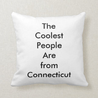 Cool from CT Throw Pillow