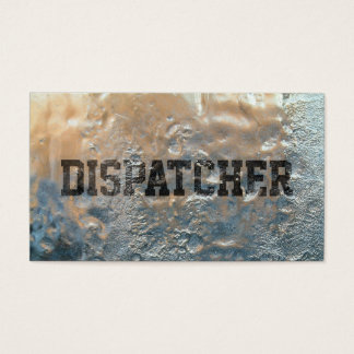 Cool Frozen Ice Dispatcher Business Card