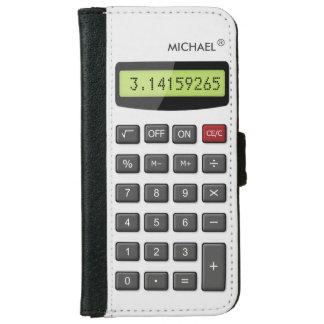 Cool Fun Calculator - Math Pi Number Digits iPhone 6 Wallet Case