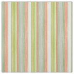 Cool Fun Pretty Watercolor Stripes Pattern Fabric