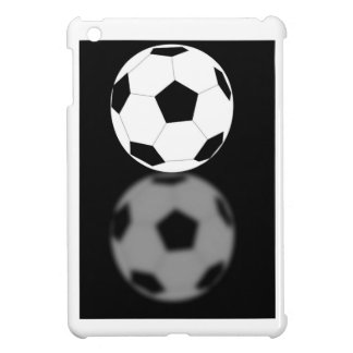 Cool Fun Soccer Ball with 3D Reflection Sports Fan Cover For The iPad Mini