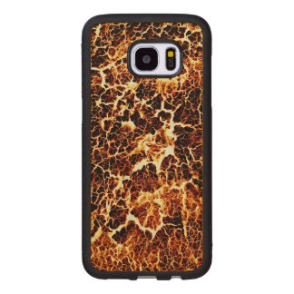 Cool Fun Unique Pattern Wood Samsung Galaxy S7 Edge Case
