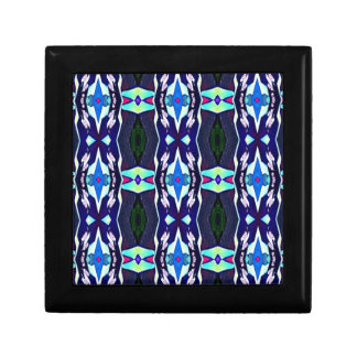 Cool Funky Tribal Kaleidoscope Pattern Gift Box