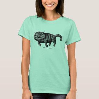Cool funny cat ink pen drawing art t-shirt