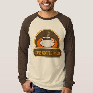 Cool Funny Coffee Cup Cafe Coffee Shop Name Raglan T-Shirt