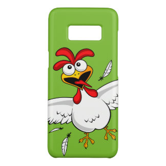 Cool Funny Cute Humorous Cartoon Chicken For Kids Case-Mate Samsung Galaxy S8 Case