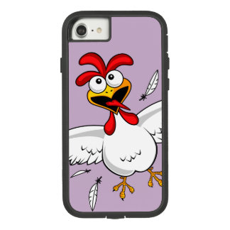 Cool Funny Cute Humorous Cartoon Chicken For Kids Case-Mate Tough Extreme iPhone 8/7 Case