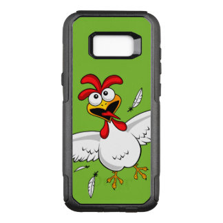 Cool Funny Cute Humorous Cartoon Chicken For Kids OtterBox Commuter Samsung Galaxy S8+ Case