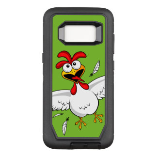 Cool Funny Cute Humorous Cartoon Chicken For Kids OtterBox Defender Samsung Galaxy S8 Case