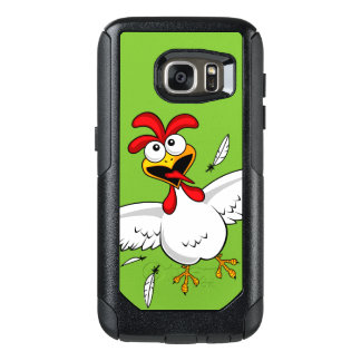 Cool Funny Cute Humorous Cartoon Chicken For Kids OtterBox Samsung Galaxy S7 Case