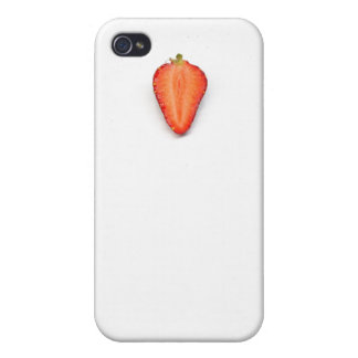 Cool funny strawberry photo iPhone 4/4S case