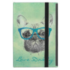 Cool  funny trendy vintage French bulldog  puppy iPad Mini Case