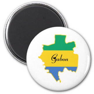 Cool Gabon Magnet