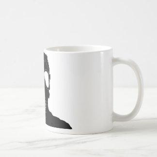 cool gas mask coffee mug