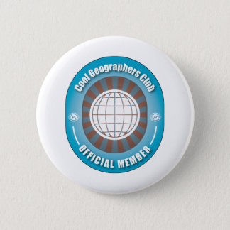 Cool Geographers Club 2 Inch Round Button