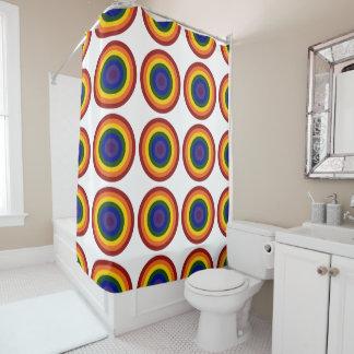 Cool Geometric Rainbow Bullseyes