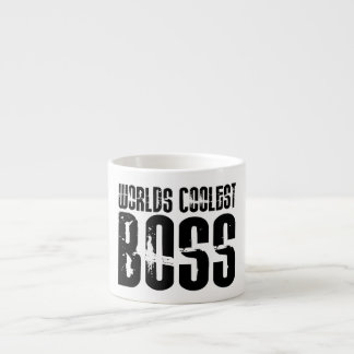 Cool Gifts for Bosses : Worlds Coolest Boss Espresso Cup