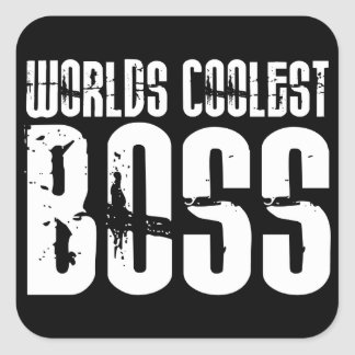 Cool Gifts for Bosses Worlds Coolest Boss Stickers