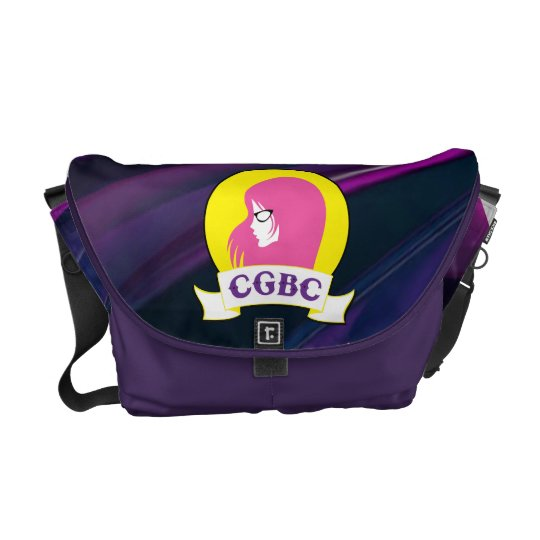 Cool Girls Book Club Messenger Bag