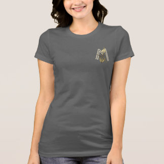 Cool Gold Cello Monogrammed T-shirt