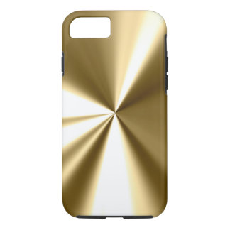 Cool Gold Metal Look iPhone 7 Case