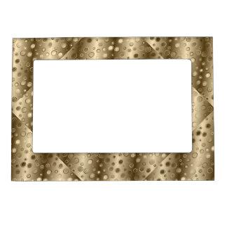 Cool Golden Design Magnetic Frame