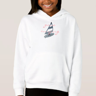 Cool Gone Surfing Wind Surf Personalized Sweater