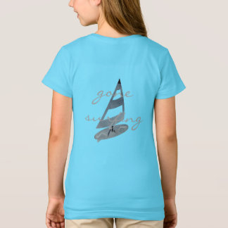 Cool Gone Surfing Wind Surf Personalized T-shirt