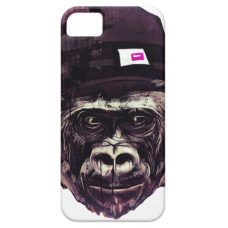 Cool Gorilla with cap iPhone 5 Cover