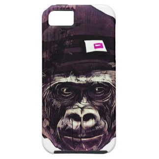 Cool Gorilla with cap iPhone 5 Covers