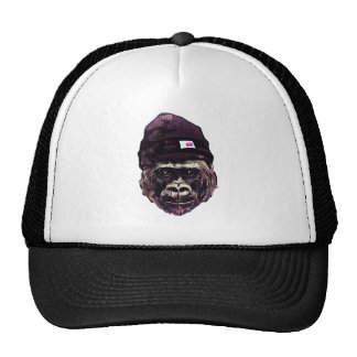 Cool Gorilla with cap Trucker Hat