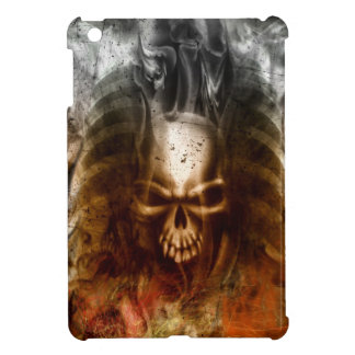Cool Gothic Skull and Bones Case For The iPad Mini
