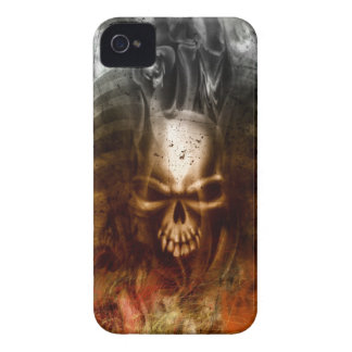 Cool Gothic Skull and Bones Case-Mate iPhone 4 Case