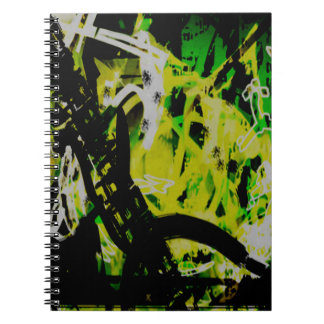COOL GRAFFITTI EIGHT SPIRAL NOTEBOOK
